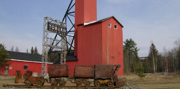 The Toburn Gold Mine, formerly the Tough Oakes Mine, is run as a not-for-profit educational facility highlighting the area's rich history. (Toburn Operating Authority)